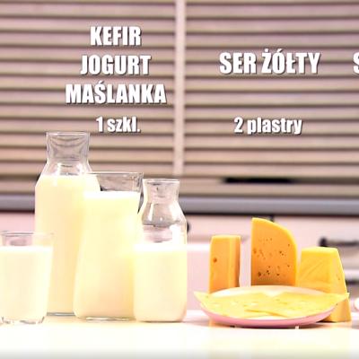 Przetwory mleczne w profilaktyce osteoporozy