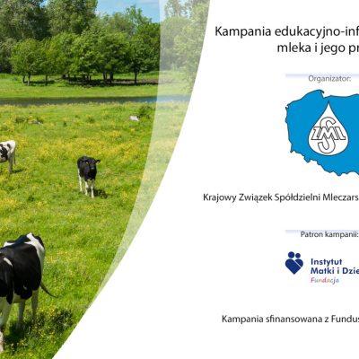 KZSM Zw. Rew. rusza z kampanią telewizyjną promującą przetwory mleczarskie