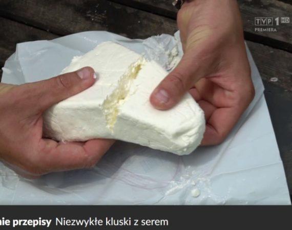 """Mleko na zdrowie: ,,Okrasa łamie przepisy"""" - niezwykłe kluski z serem"""