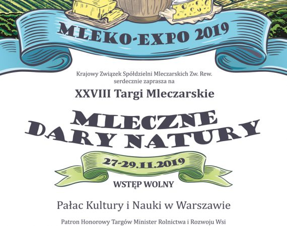 MLEKO-EXPO 2019 - program targów