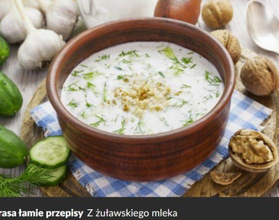 Mleko na zdrowie: Okrasa łamie przepisy - z żuławskiego mleka
