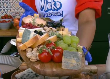Mleko na zdrowie: jedzmy sery