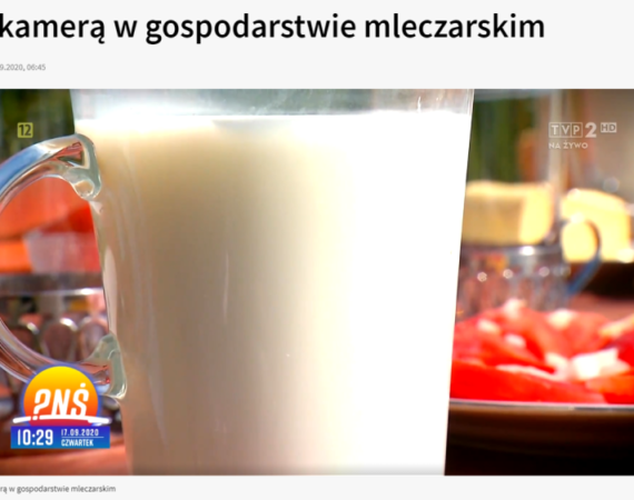 Mleko na zdrowie: wizyta w gospodarstwie mleczarskim