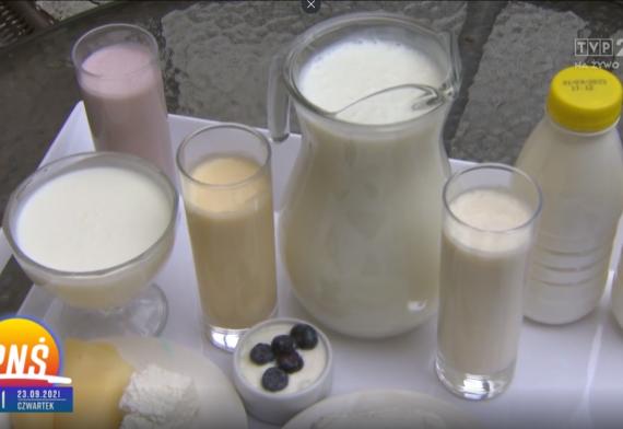 Mleko - dobry wybór: rola produktów mlecznych w diecie osób aktywnych fizycznych.